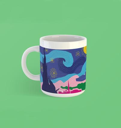 """Mug """"Starry Night"""""""
