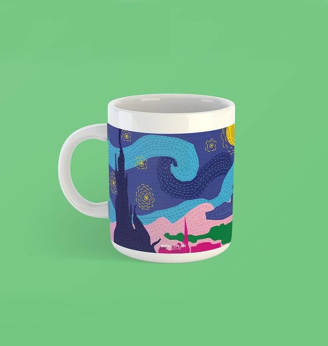 """Mug """"Starry Night"""" 0"""