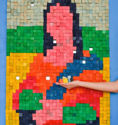 "Puzzle Magnético ""Mona Lisa"""