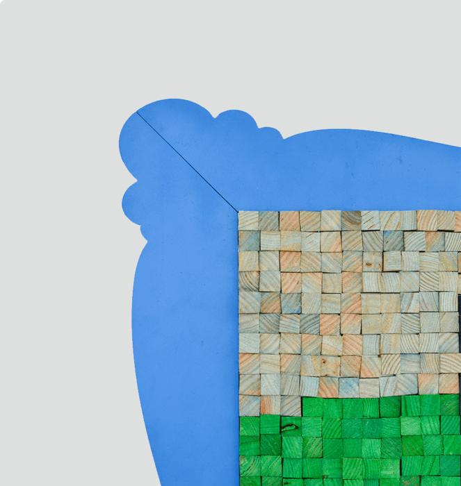 """Puzzle Magnétique """"Mona Lisa"""" 3"""