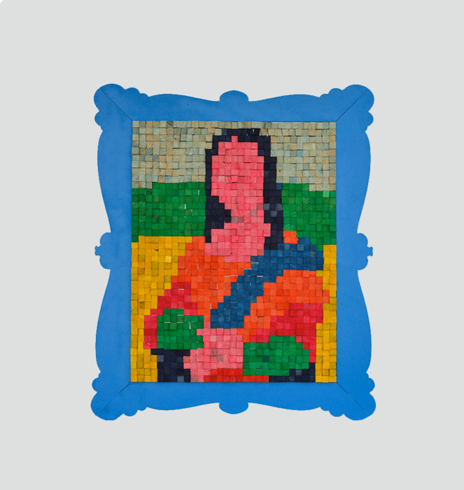 """Puzzle Magnétique """"Mona Lisa"""" 6"""