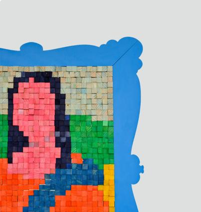 """Puzzle Magnétique """"Mona Lisa"""""""