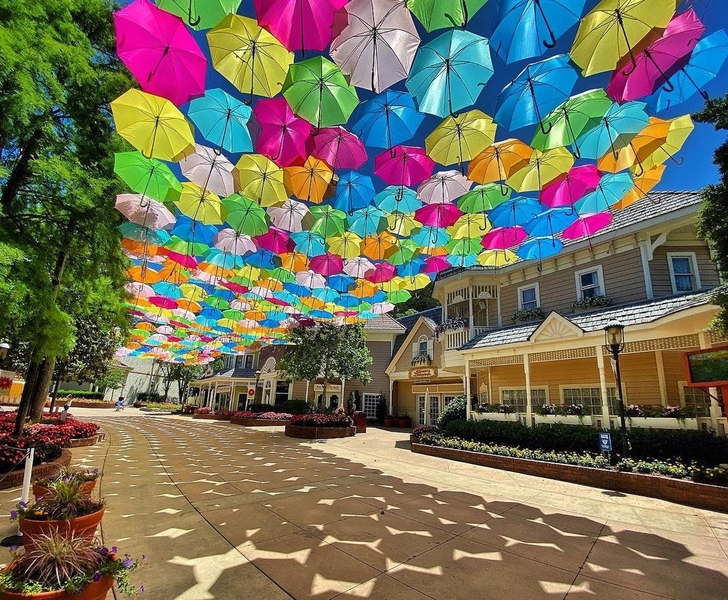 Umbrella Sky Project - Pigeon Forge, TN'21