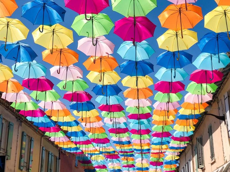Umbrella Sky Project - La Croix-Valmer'21