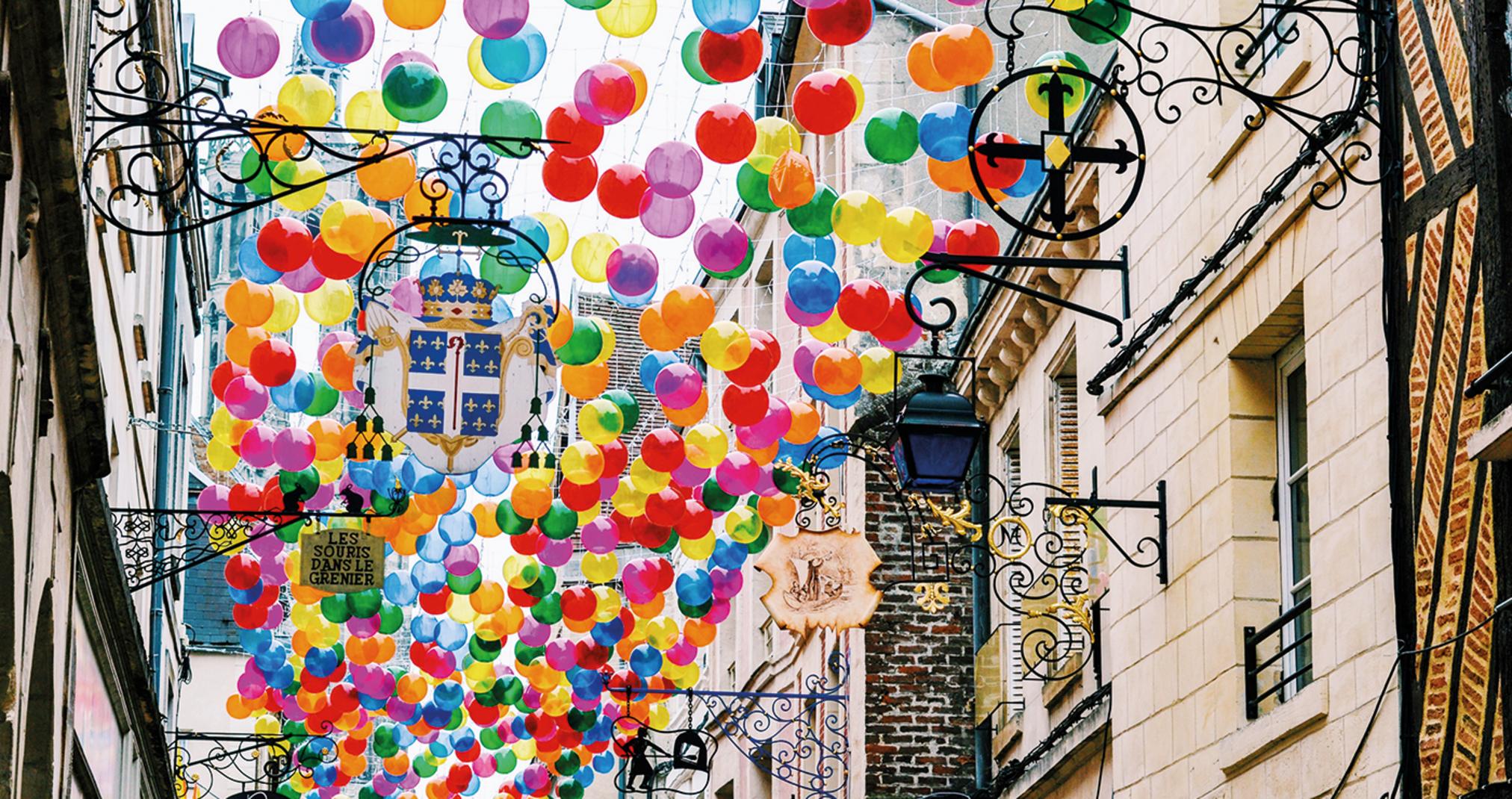 Bubble Sky, Color Rain, Andorinhas - Laon'21