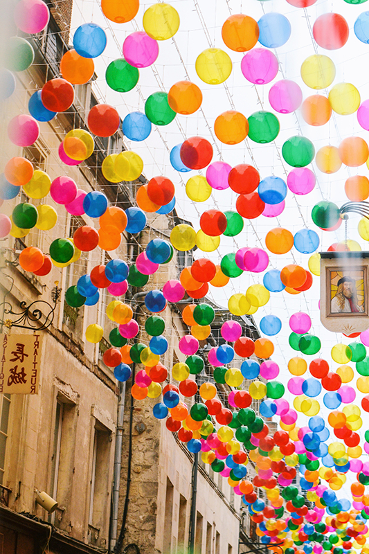 Bubble Sky, Color Rain, Andorinhas - Laon'2110
