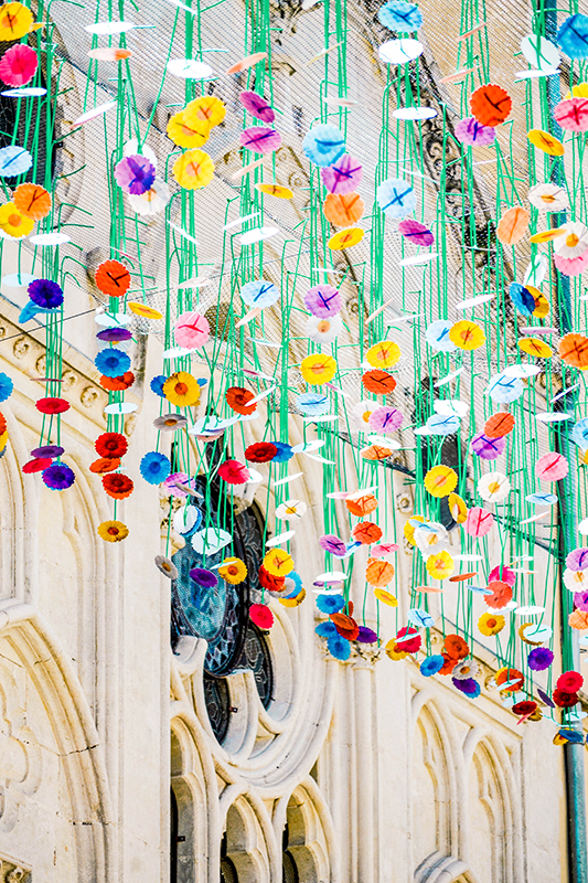 Umbrella Sky Project, Jardim Invertido - Carcassonne'217