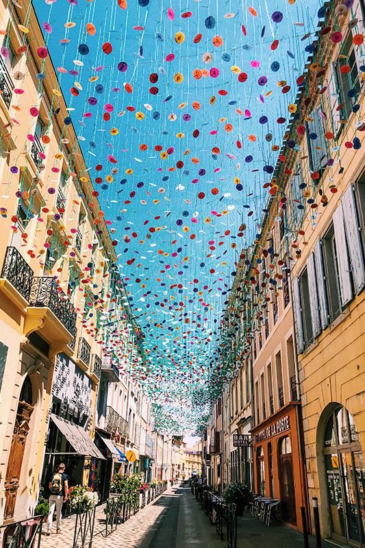 Umbrella Sky Project, Jardim Invertido - Carcassonne'219