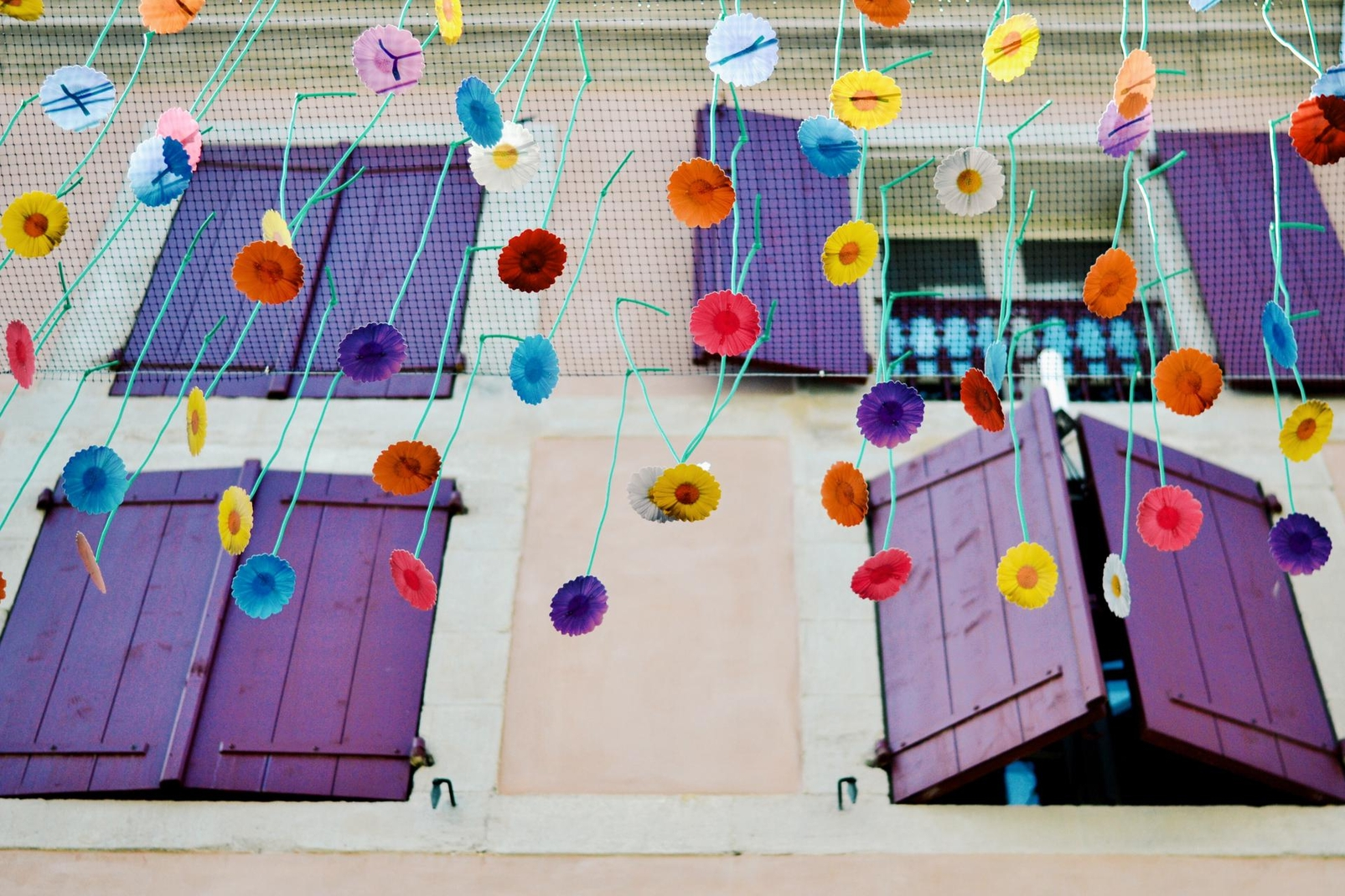 Umbrella Sky Project, Jardim Invertido - Carcassonne'21