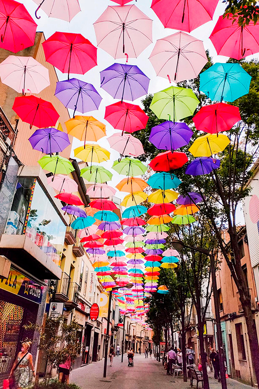 Umbrella Sky Project - Rubí'215