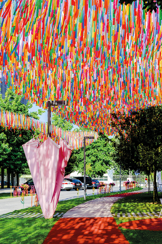 Umbrella Sky Project - Águeda'218
