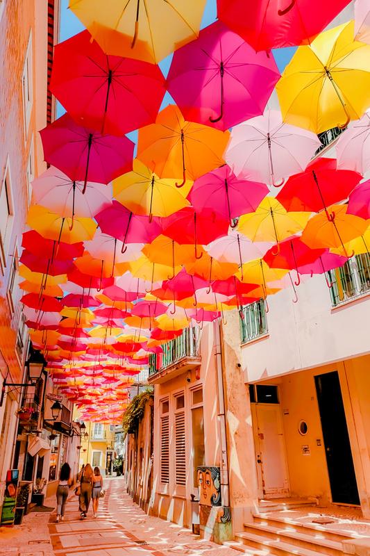 Umbrella Sky Project - Águeda'214