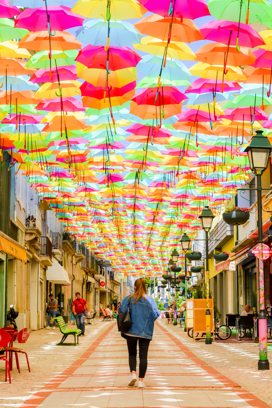 Umbrella Sky Project - Águeda'212