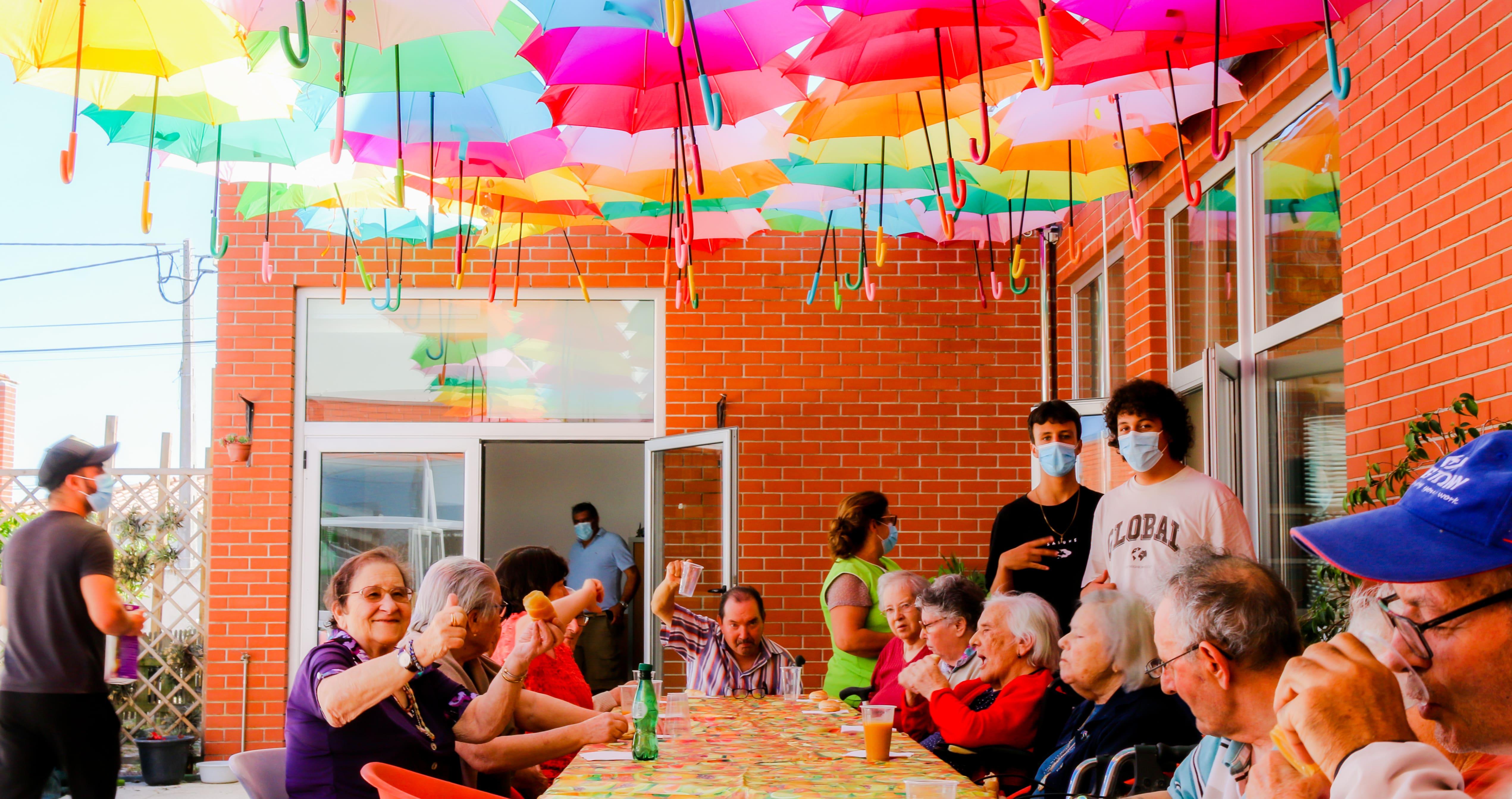 Umbrella Sky Project no Centro Comunitário da Gafanha do Carmo 4